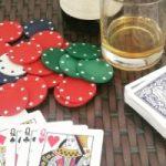 Pokerkort och marker